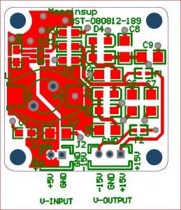 Dimension step up Voltage
