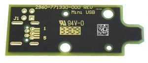 Convert pcb mini usb plug to edge pcb